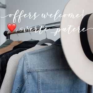 Thank you for visiting and shopping my closet! 💛